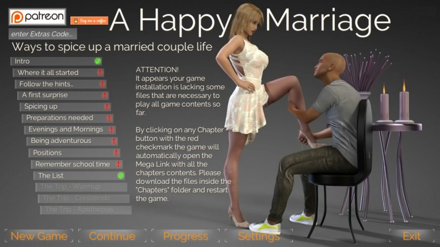 happy marriage patreon