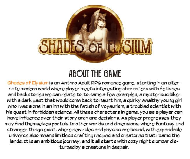 Shades of Elysium - Pre-Alpha Version