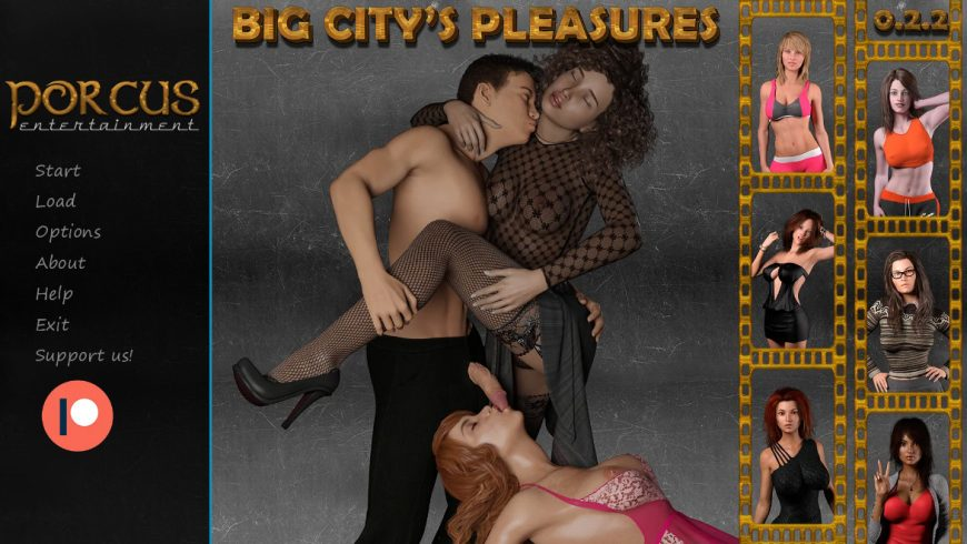 Big City's Pleasures - Version Official Guide