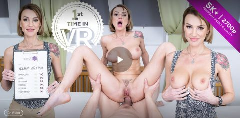 Czech VR Casting 143 - Sexy Russian's Anal Casting