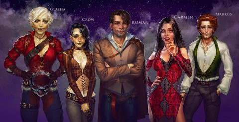 Dusky Hallows are creating Adult Games