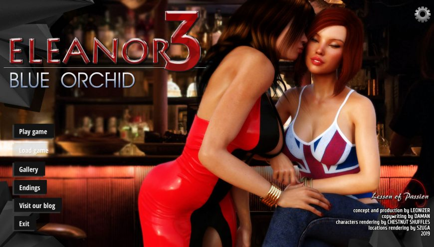 Eleanor 3: Blue Orchid