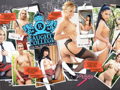 Naughty College - Young Seductress