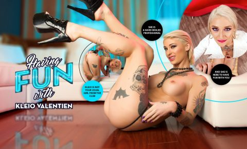 Having Fun with Kleio Valentien