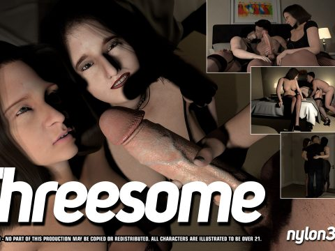 Threesome (Nylon3d)